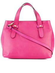 Borbonese Small Tote Women Leather Polyester One Size Pink Purple
