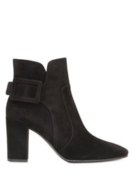 Roger Vivier 85Mm Polly Suede Ankle Boots