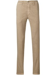 Re Hash Slim Fit Trousers Nude And Neutrals