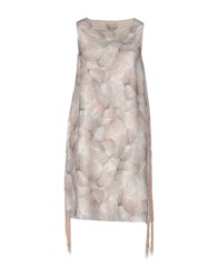 Andrea Incontri Short Dresses Light Grey