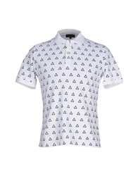 Le Mont St Michel Topwear Polo Shirts Men White