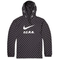 Nike X F.C. Real Bristol Packable Anorak Black And White
