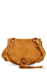 See By Chloe 'Medium Collins' Leather And Suede Messenger Bag