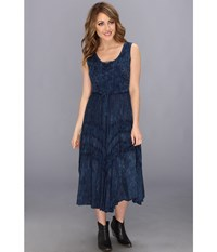 Scully Honey Creek Amelie Dress Blue Women's Dress
