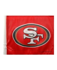 Rico Industries San Francisco 49Ers Car Flag Team Color