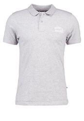 Russell Athletic Polo Shirt Greymelange