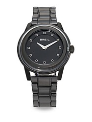 Breil Milano Orchestra Black Ceramic And Stainless Steel Watch