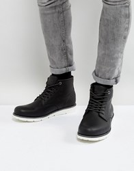 5c53a3a6d6d Levis Jax Clean Leather Boots In Black Black
