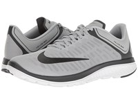 Nike Fs Lite Run 4 Wolf Grey Black Anthracite White Men's Running Shoes Gray