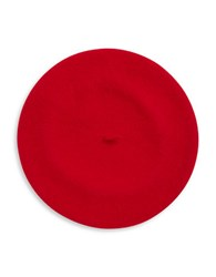Parkhurst Wool Beret Red Flame