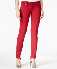 Miss Me Red Wash Skinny Jeans
