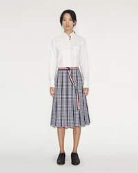 Thom Browne Pleated A Line Skirt