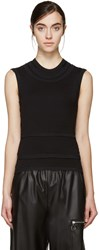 Denis Gagnon Ssense Exclusive Black Superimposed Tank Tops