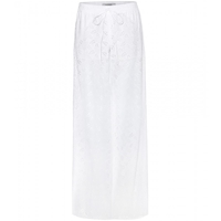 Valentino Broderie Anglaise Wide Leg Trousers