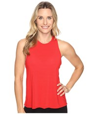 Beyond Yoga Waterfall Swing Tank Top Chili Red Women's Sleeveless