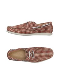 Gold Brothers Loafers Red