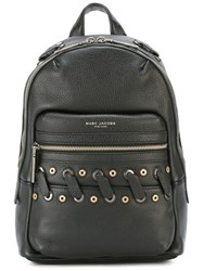 Marc Jacobs Woven Detail Backpack Black