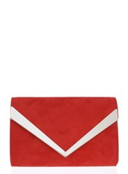 Dorothy Perkins Quiz Red Thick Plated Clutch Bag