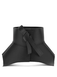 Loewe Obi Leather Belt Black