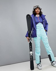 Helly Hansen Cargo Ski Pant In Blue Glacier