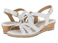 Softspots Samoa White Goat Cabrillo Women's Wedge Shoes