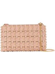 Red Valentino Flower Puzzle Cross Body Bag Neutrals