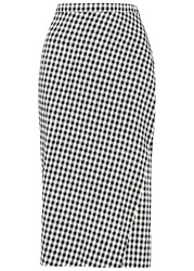 Altuzarra Vic Houndstooth Pencil Skirt