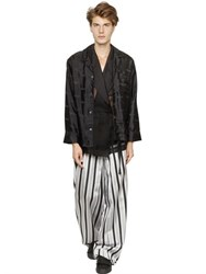 La Perla Flying Oyster Silk Pajama Jacket