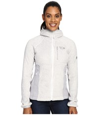 Mountain Hardwear Monkey Woman Pro Hooded Jacket White Women's Coat