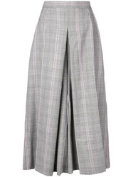Alexander Mcqueen Pleated Palazzo Trousers Black