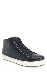 Magnanni Men's 'Peydro Mid' Peforated High Top Sneaker