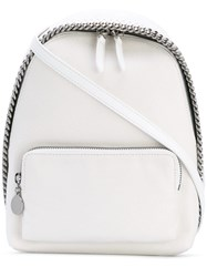 Stella Mccartney Mini Falabella Backpack Women Artificial Leather One Size White