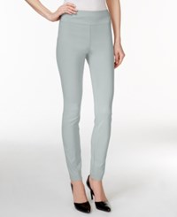 Styleandco. Style And Co. Tummy Control Stretch Leggings New City Silver