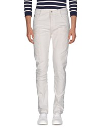 Uniform Denim Denim Trousers White