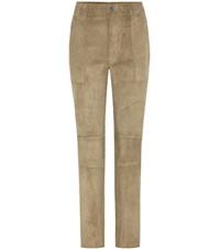 Stouls Tommy Suede Trousers Green