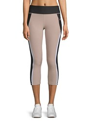 X By Gottex Studio Capri Leggings Nude