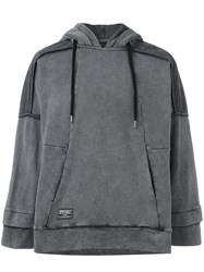 Ktz Inside Out Hoodie Grey