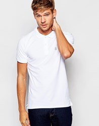 Selected Homme Pique Polo Shirt White