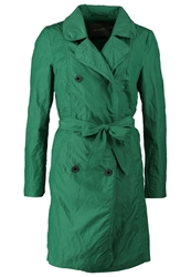 Sandwich Trenchcoat Green