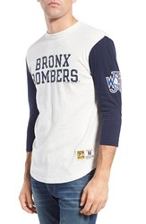 Men's Mitchell And Ness 'World Series Extra Out' Tailored Fit Three Quarter Baseball T Shirt