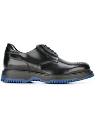 Emporio Armani Chunky Sole Derby Shoes Black