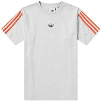 Adidas Floating Trefoil Tee Grey