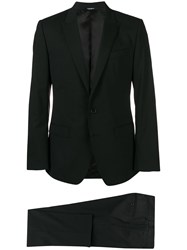 Dolce And Gabbana Classic Suit Black