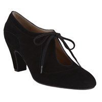 John Lewis Xalao Lace Up Suede Shoe Boots Black