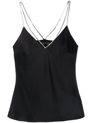 David Koma Chain Strap Detail Camisole Top 60