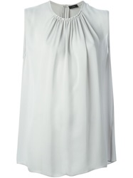 Joseph Sleeveless Blouse Grey