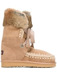 Mou 'Eskimo Lace' Boots Brown