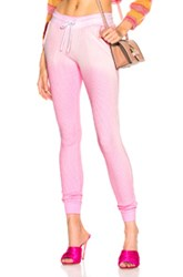 Cotton Citizen Monaco Thermal Jogger In Pink