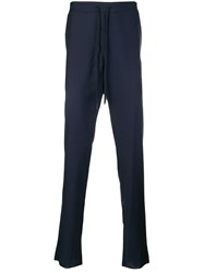 Moschino Drawstring Trousers Blue