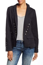 Free People Structured Blazer Black